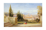 Italian Landscape Giclee Print by George Edwards Hering