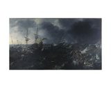 The Battle of Lepanto, 1623 Giclee Print by Andries van Eertvelt