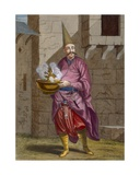 Halvadgi, the Confectioner of the Sultan, C.1708 Giclee Print by Jean Baptiste Vanmour