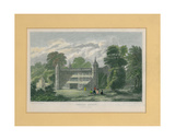 Tixall Abbey, Staffordshire Giclee Print by T. Radclyffe