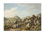Ruins of a Roman Temple at Ephesus, 1790s Giclee Print by Gaetano Mercati