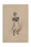 Tilly Slowboy - the Cricket on the Hearth, C.1920s Giclee Print by Joseph Clayton Clarke
