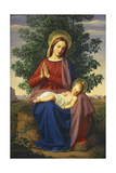 The Madonna and Child, 1855 Giclee Print by Julius Schnorr von Carolsfeld