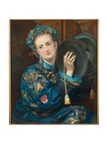 A Woman in an Oriental Costume, 1866 Giclee Print by Joseph Middleton Jopling