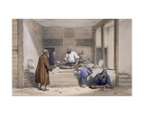 Cabaub Shop, Cabul, 1843 Giclee Print by James Atkinson