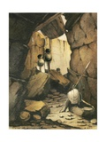 Cave at Goongoonta, C.1841 Giclee Print by Rupert Kirk