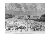 On 11 April, 1792, Place Louis Xv Was Renamed Place De La Revolution and Today Is Called Place De… Giclee Print