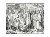 Luther Burns the Pope's Bull in 1520, 1882 Giclee Print