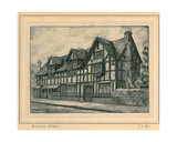 Shakespeare's Birthplace Giclee Print by T.S. Allan