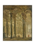Interior of a Church Giclee Print by Pieter the Elder Neefs