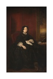 Mrs. Margaret Stuart Tyndall Bruce of Falkland, 1863 Giclee Print by Sir Francis Grant
