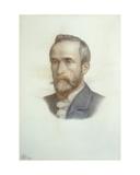Portrait of Frederick Richard Leyland, 1879 Giclee Print by Dante Gabriel Rossetti