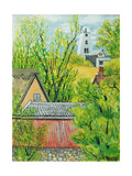 View from Cynthia's Window, Dalham, Suffolk Giclee Print by Joan Thewsey