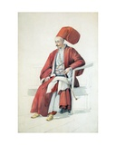 A Court Official or Servant of the Sultan, C.1810 Giclee Print by William Page