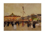 At the Fair Giclee Print by Luigi Loir