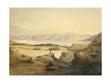 Bahr Assal Salt Lake, C.1841 Giclee Print by Rupert Kirk