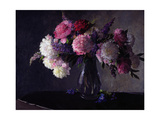 The Peonies Giclee Print by Hans Iten