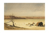 Dooldool Plain from Oomargootuf, 1841 Giclee Print by Rupert Kirk