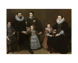 Portrait of a Family, 1631 Giclée-Druck von Cornelis de Vos