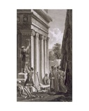 Tomb of Absalom, Valley of Jehosophat, 1799 Giclee Print by Louis-Francois Cassas