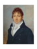 Pierre Lafon, 1804 Giclee Print by Jean Francois Marie Bellier