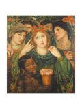 The Beloved (The Bride) 1865-66 Reproduction procédé giclée par Dante Gabriel Rossetti