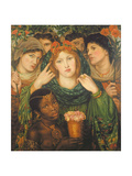 The Beloved (The Bride) 1865-66 Giclee Print by Dante Gabriel Rossetti