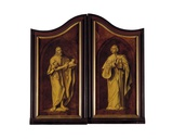 Altarpiece of the Guild of Joiners, Closed Giclee Print by Quentin Massys or Metsys