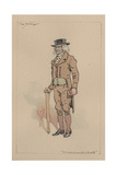 The Stranger, or Edward Plummer - the Cricket on the Hearth, C.1920s Lámina giclée por Joseph Clayton Clarke