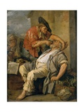 The Dentist, C.1690 Giclee Print by Jacob Toorenvliet