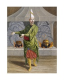 Beulouk-Bachi, Head Chef of the Sultan, C.1708 Giclee Print by Jean Baptiste Vanmour