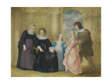 Portrait of a Family, 1642 Giclee Print by Philip Fruytiers