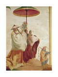 The Walk of the Mandarin Giclee Print by Giandomenico Tiepolo