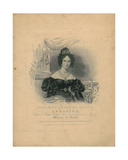 Queen Adelaide Giclee Print by William Wolfe Alais