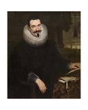 Barthel Van Den Berghe, Notary Giclée-Druck von Cornelis de Vos