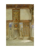 Interior of the House of the Mufti Sheikh El Mahadi, Cairo Giclee Print by Frank Dillon