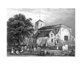 Waltham Abbey Church, Essex, Engraved by John Rogers, 1831 Giclee Print by George Bryant Campion