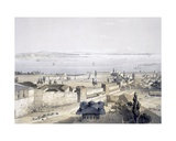 View of the Bosphorus from the Mosque, 1852 Giclee Print by Gaspard Fossati