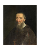 Portrait of the Bishop Jean-Pierre Camus, 1643 Giclee Print by Philippe De Champaigne