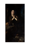 Portrait of Maria Maddalena of Austria as Saint Mary Magdalene, C.1620 Giclee Print by Justus Sustermans