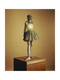 Little Dancer of Fourteen Years, 1879-81, Cast 1921 Giclee Print by Edgar Degas