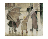 Return to School Giclee Print by Jules Jean Geoffroy