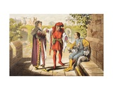 Warwick Speaks in King Henry Vi, Act II, Scene II, 'Be We the First That Shall Salute Our… Giclee Print by Robert Dudley