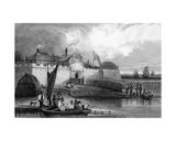 Tilbury Fort, Essex, Engraved by Henry Adlard, C.1832 Giclee Print by George Bryant Campion