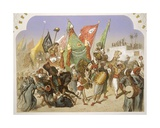 The Return of the Mahmal to Cairo, 1860 Giclee Print by Henri De Montaut