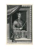 Henry II Giclée-Druck von George Vertue