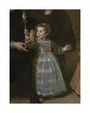 Portrait of a Family, 1631 (Detail) Giclée-Druck von Cornelis de Vos