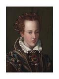 Giovanna D'Austria, 1570 Giclee Print by Alessandro Allori
