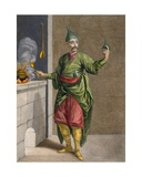 Ast-Chi, the Sultan's Chef, C.1708 Giclee Print by Jean Baptiste Vanmour