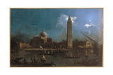 La Vigilia Di San Pietro Giclee Print by  Canaletto